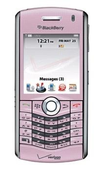 Verizon Launches BlackBerry Pearl 8130 in Pink