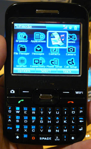 First Android Handset Shown At CES