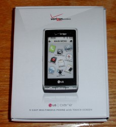 LG Dare VX9700 Unboxed, First Impressions
