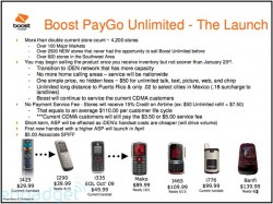 New Boost Mobile Handsets Revealed