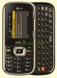 First Press Image of Forthcoming Sprint LG Rumor 2 Surfaces