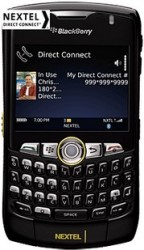Sprint Launches BlackBerry Curve 8350i Without Camera