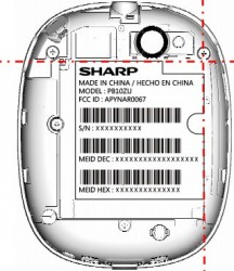 FCC Reveals Sharp Slider with US CDMA, Wi-Fi and Bluetooth