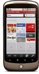 Opera Launches Opera Mini 5 Beta 2 for Android
