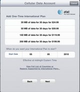 AT&T Offering Intenational iPad 3G Data Plans