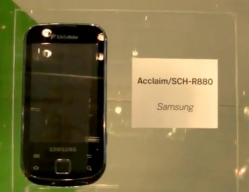 Samsung Acclaim for US Cellular Surfaces