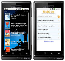 Amazon Kindle App Now Available for Android
