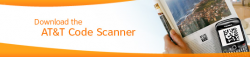 AT&T Announces Barcode Scanner App for BlackBerry and Android