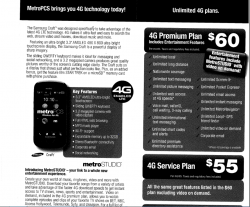 MetroPCS Samsung Craft Specs and LTE Plans Leak