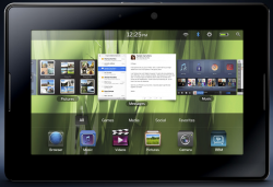 RIM BlackPad Announced as BlackBerry PlayBook