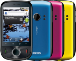Huawei Announces Ideos Android Smartphone with Google Experience