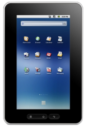 CherryPad America Android 2.1 Tablet Announced by Cherrypal, On Sale for $188