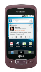 T-Mobile Announces LG Optimus T for Holiday Launch