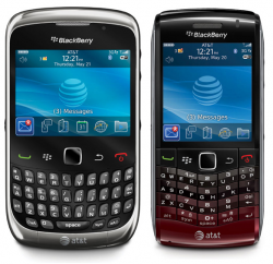 AT&T Launches BlackBerry Curve and Pearl 3G