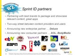 Sprint Announces New Partners for Sprint ID Service