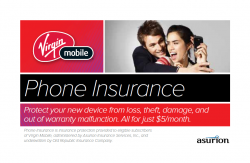 Virgin Mobile Now Offering Insurance for Additional $5 Per Month