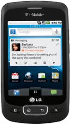 T-Mobile LG Optimus T in Black Price Cut