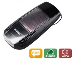 Solar DrivenTalk BHF-2000 Links Drivers to Phones