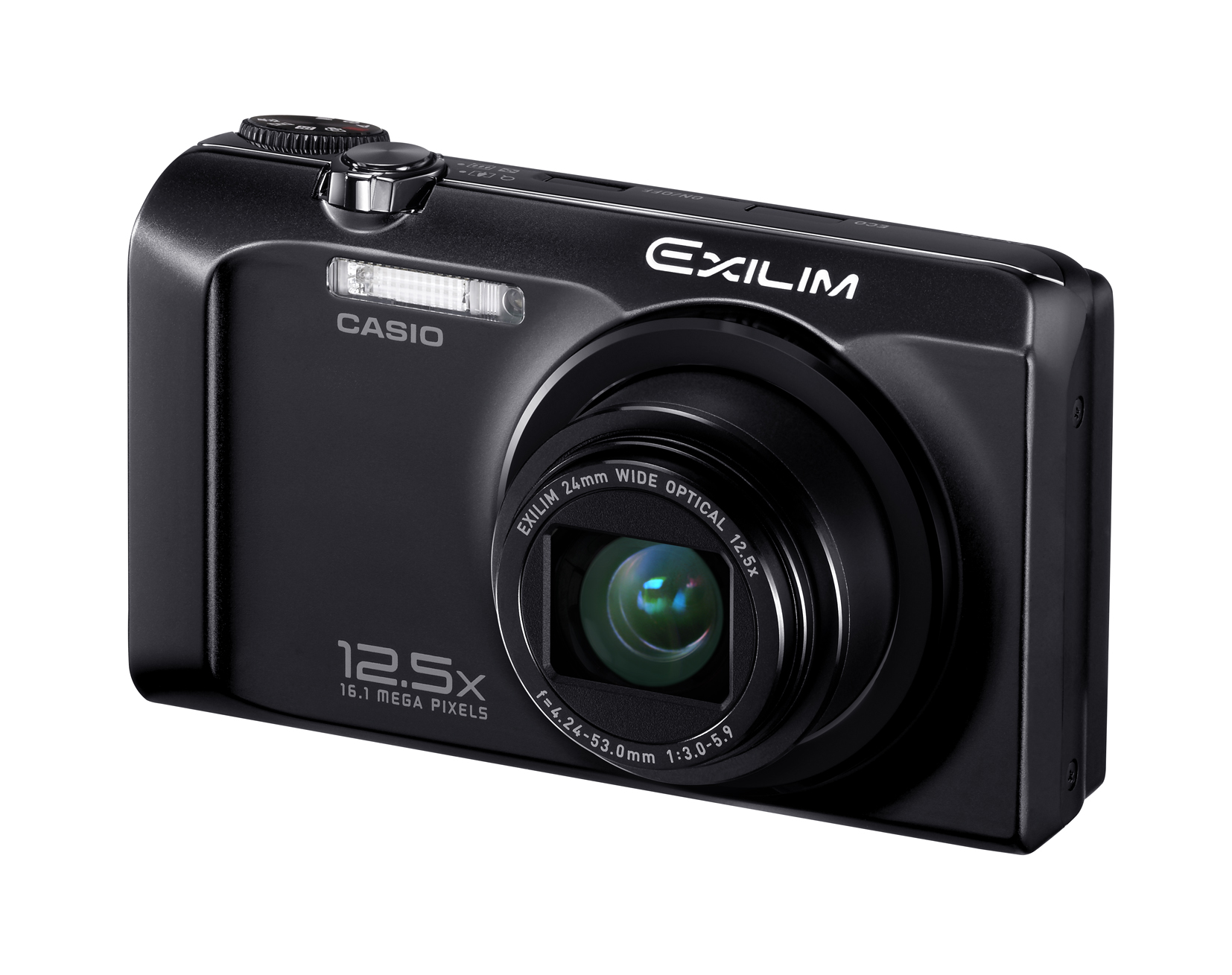 Casio's Exilim EX-H30 Offers 24mm Lens with 12.5x Optical Zoom