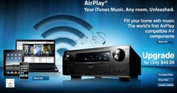 AirPlay Now Available on Select Denon Recievers