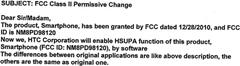 FCC Change