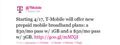 T-Mobile Twitter