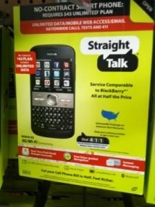 StraightTalk Nokia E5