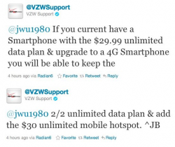 Verizon Confirms 3G Unlimited Data to 4G Upgrades Keep Unlimited Data