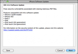 Apple Releases PDF Exploit Patch, Tethered Jailbreak Now Available