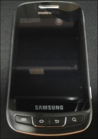 MetroPCS Samsung Admire