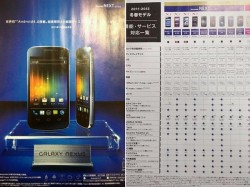 Samsung Galaxy Nexus Specifications Leaked Ahead of Launch Event