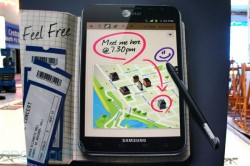 CES 2012: Samsung Galaxy Note for AT&T Confirmed