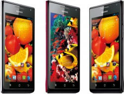 CES 2012: Huawei Announces P1 and P1 S Android ICS Smartphone