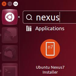 Installing Ubuntu for Nexus 7 is a one-stop affair.