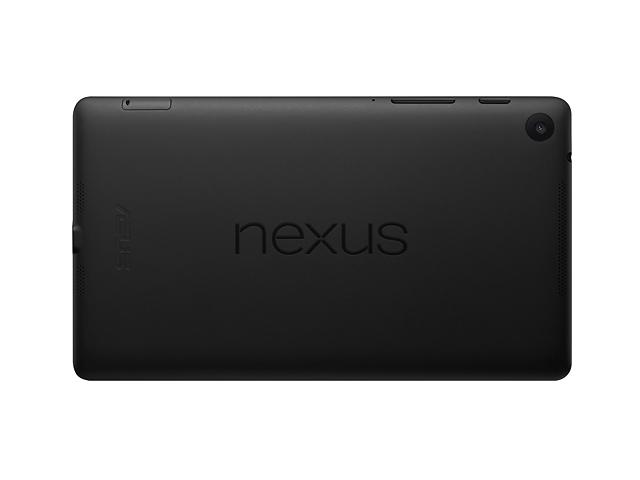 2nd Gen Nexus 7 Back
