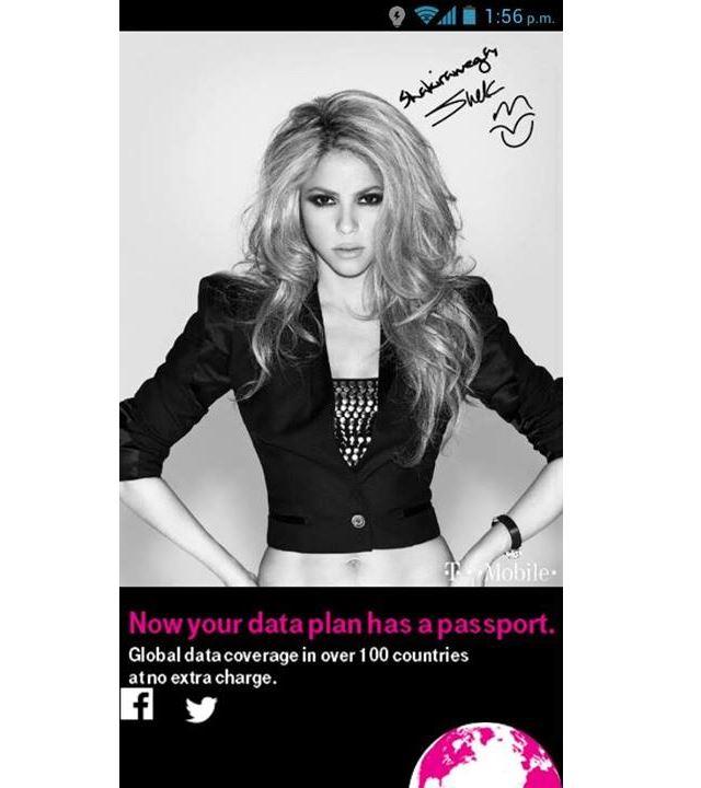 T-Mobile Shakira Roaming