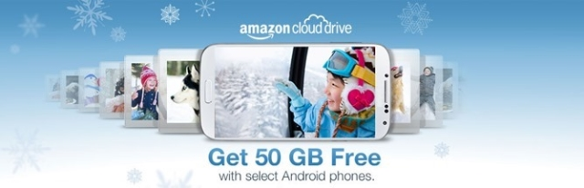 Amazon Cloud Drive promo