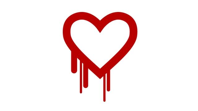 Heartbleed logo wide