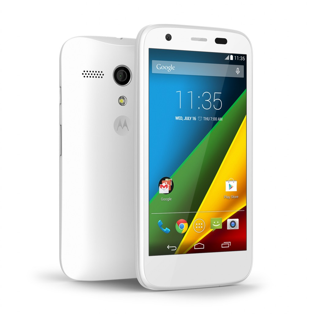 Moto G LTE In White