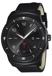 LG Announces G Watch R Android Wear Smartwatch With Round Watch Face
