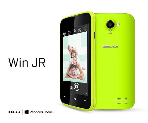 BLU Products Win JR 3