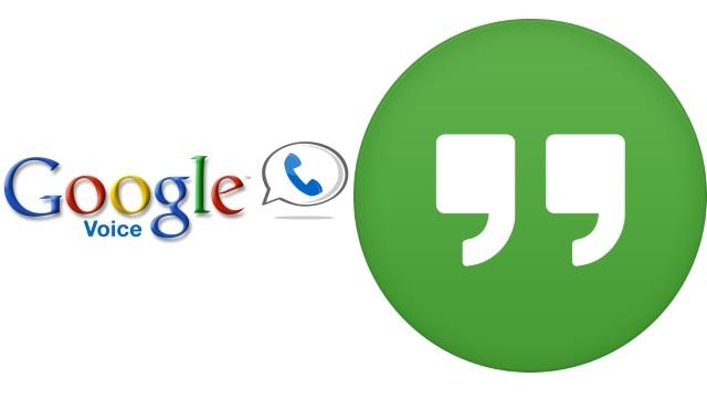 Google Voice-Hangouts