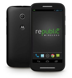 Republic Wireless Launches Moto E