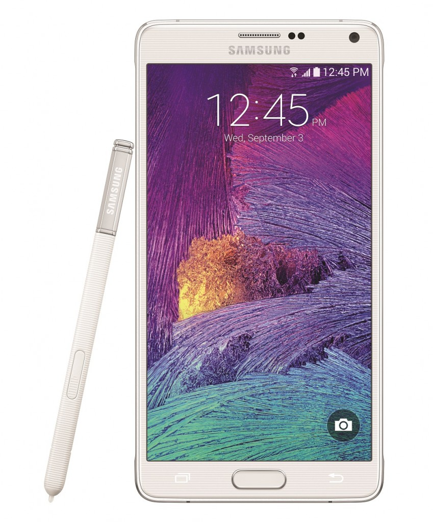 White Galaxy Note 4
