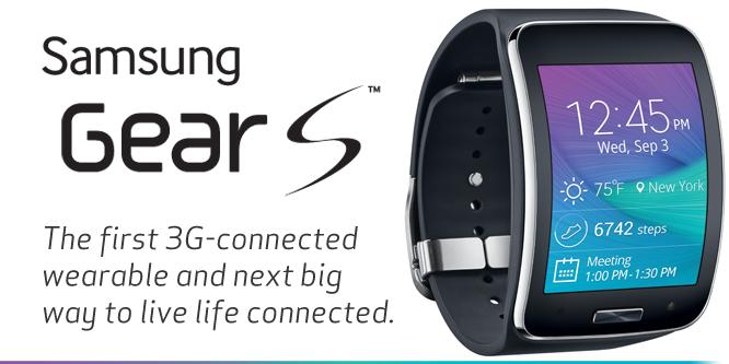Samsung Gear S wide