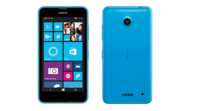 Cricket Lumia 635