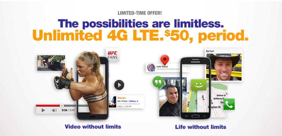 MetroPCS $50 Unlimited