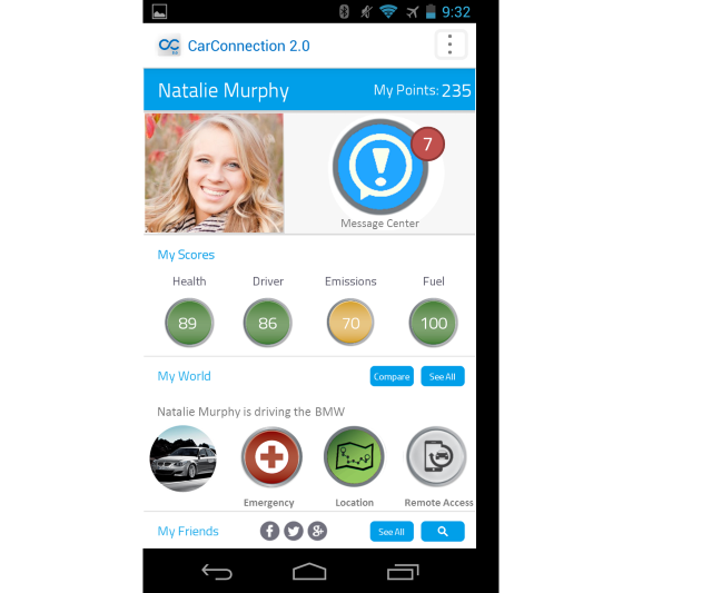 AT&T Car Connection 2.0 app