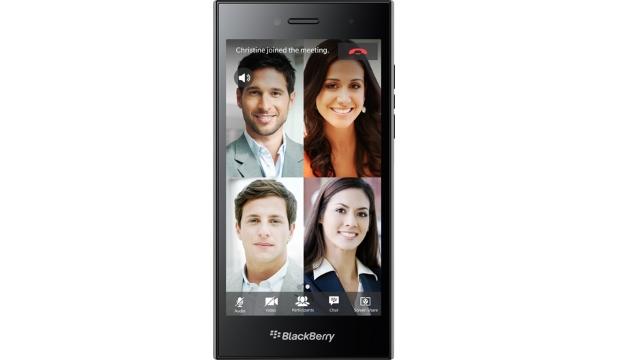 BlackBerry Leap wide