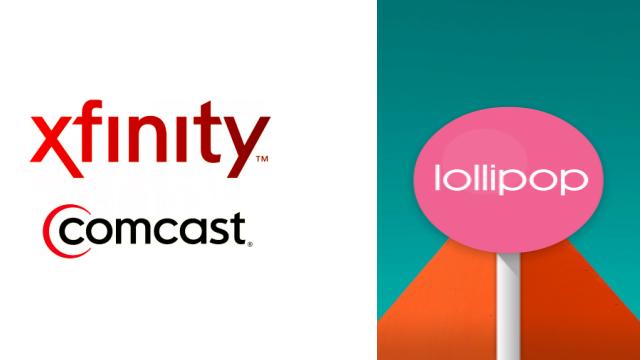 Comcast Xfinity-Lollipop